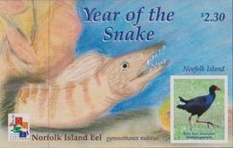 Norfolk Island ASC 735 MS 2001 Year Of The Snake, Miniature Sheet, Mint Never Hinged - Norfolk Island