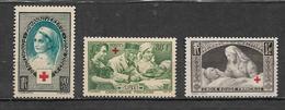 France Croix Rouge De 1939/40  N°422 Et 459/60  Neuf ** Parfait  Cote 45€ - Frankreich