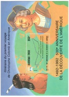 Burkina Faso Mnh ** Sheet 6 Euros 1992 Columbus - Burkina Faso (1984-...)