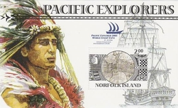 Norfolk Island ASC 900 MS 2005 Explores, Souvenir Sheet, Mint Never Hinged - Norfolk Island