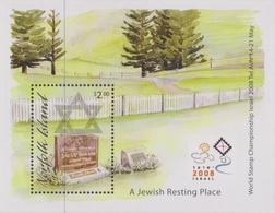 Norfolk Island ASC 1011 MS 2008 A Jewish Resting Place, Miniature Sheet, Mint Never Hinged - Norfolk Island