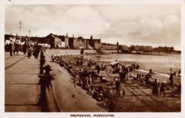 R097757 Promenade. Morecambe. RP. 1925 - Cartes Postales