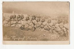 CARTE PHOTO - MILITAIRE - MAROC - MASSACRE DE AIN MAROUF LE 4 JANVIER 1913 - Guerres - Autres