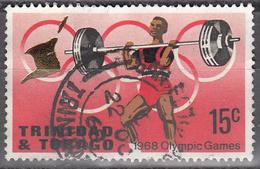 TRINIDAD AND TOBAGO     SCOTT NO.  140     USED     YEAR   1968 - Trinidad & Tobago (1962-...)
