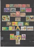 32 TIMBRES MALAISIE (Fédération) OBLITERES DE 1906 à 1986   Cote : 11,05 € - Malaysia (1964-...)