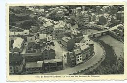 La Roche En Ardenne La Ville Vue Des Hauteurs De Corumont - La-Roche-en-Ardenne