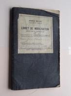 Livret De MOBILISATION Zakboekje ( Armée Belge ) PEETERMANS 18eme Regiment De Ligne Classe 1919 ( Zie Foto's ) ! - Documents