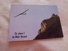 PLANEUR AU MONT REVARD ..SAVOIE - Aviation