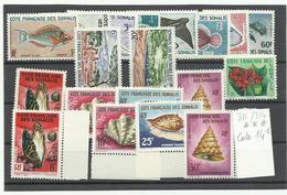 C Fse Somalis, Lot De Timbres Neufs * & *** Cote YT 60€ - Unused Stamps