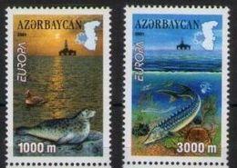 2001 - Azerbaigian 502/03 Europa - Azerbaijan