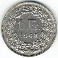 Switzerland, 1 Franc, 1968 B - Zwitserland