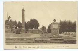 Virton Champ De Bataille Du 22-8-1914 Les Monuments Rappelant L'héroïsme Des Combats - Virton