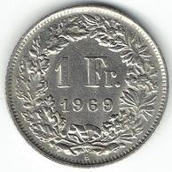 Switzerland, 1 Franc, 1969 B - Zwitserland