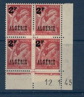 ALGERIE        N° YVERT  :  COIN DATE  N°  233     ( 12.01.45 )          NEUF SANS  CHARNIERES - Algérie (1924-1962)