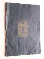 """Carnet De MARIAGE Hougaerde 1934 ( Boek 2 - Blz. 334 ) De > DETRY """"Baulers"""" 1898 > VANHAGENDOREN """" Hougaerde"""" 1906 ! - Vecchi Documenti"""