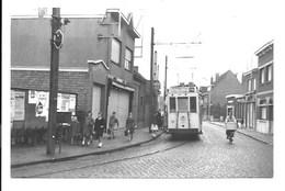 Hoevenen - Lijn 75 Antwerpen-Lillo - Tram - Foto. - Antwerpen