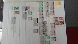 Belle Collection De Timbres Surchargés EA Tous états Dont Un Bon Pourcentage Signés. Pas Commun. A Saisir !!! - Stamps
