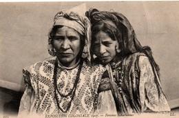 Exposition Coloniale 1907 - Femmes Sahariennes - Sahara Algérie - édit LL - Femmes