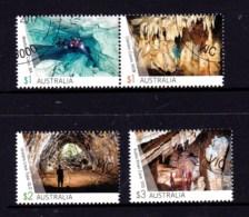 Australia 2017 Caves Set Of 4 CTO - - Oblitérés
