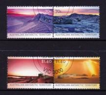 Australian Antarctic 2015 Colours Of The AAT Set Of 4 CTO - Australian Antarctic Territory (AAT)
