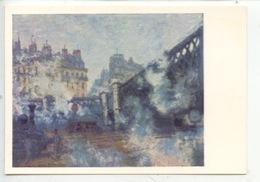 Claude Monet (1840/1926)  Le Pont De L'Europe, Gare Saint Lazare 1877 (marmottan) Cp Vierge - Schilderijen