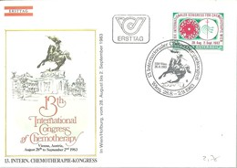 FDC AUSTRIA 1983 CHEMOTERAPIE - Medicina
