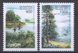 2001 - Bielorussia 415/16 Europa - Bielorussia