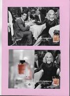 Carte Postale De 12cm X 15 Cm Dolce Gabanna - Cartes Parfumées