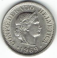 Switzerland, 10 Rappen 1969 B - Zwitserland