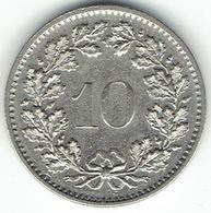 Switzerland, 10 Rappen 1972 - Zwitserland