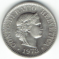 Switzerland, 10 Rappen 1973 - Zwitserland