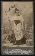 "Photo-carte De Visite / CDV / Femme / Woman / ""Tante Maria"" / Photographer Lienhard & Salzborn / Chur / Schweiz - Photos"