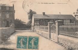 76 - SAINT AUBIN SUR MER - Chemin De La Mer - Francia