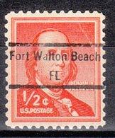 USA Precancel Vorausentwertung Preo, Locals Florida, Fort Walton Beach 848 - Vereinigte Staaten