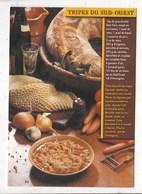 Carte Postale  Tripes Du Sud Ouest - Recettes (cuisine)