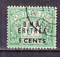 PGL - COLONIE ITALIANE OCC. BRITANNICA BMA ERITREA TASSE SASSONE N°1 - Eritrea