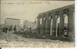 Etg Afrique Egypte Karnak - Ruines De Haute Egypte 1905 EVT BE - Altri