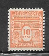 France Timbres De 1944  N°629  Neufs ** Sans   Charniére Cote 40€ - Francia