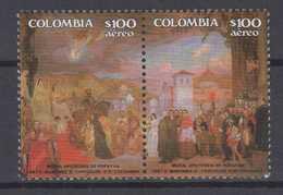 Colombia Mi# 1694-95 ** MNH POPAYAN 1987 - Colombia