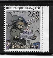 FRANCE 2839 Le Plaisir D'écrire Joyeux Anniversaire De Sorel - France