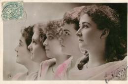 PHOTO MONTAGE PAR REUTLINGER DONT CLEO DE MERODE ORANOTYPIE - Artistes
