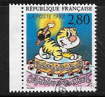 FRANCE 2838 Le Plaisir D'écrire Joyeux Anniversaire De S. Colman - France