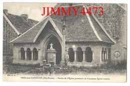 CPA - Porche De L'Eglise Provenant De L'ancienne Eglise Romane - PREZ Sous LAFAUCHE Poissons 52 Haute Marne - Edit. A. H - Poissons