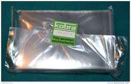 100 Schutzhüllen Aus Hartfolie - Kobra T 74 - Für Alte Ansichtskarten (bis 95 X 145mm) - Neu + Originalverpackt - Sobres Transparentes