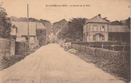 76 - SAINT AUBIN SUR MER - La Route De La Mer - Francia