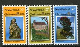 NEW ZEALAND, 1979 XMAS 3 MNH - New Zealand