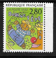 FRANCE 2837 Le Plaisir D'écrire Bonne Fête De B. Olivié - France