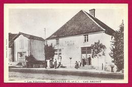 CPA Chenôves - Les Filletières - Café Baudot - Francia