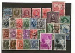 Lot Alte Belgien  Gestempelt - Stamps