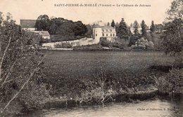 SAINT PIERRE De MAILLE  -  Le Château De Jutreau - Frankrijk